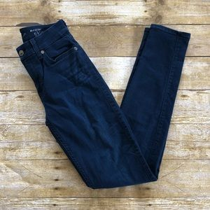7 For All Mankind The Mid Rise Skinny Denim